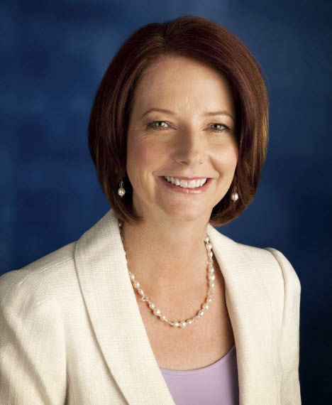 Message from The Honourable Julia Gillard  Prime Minister of Australia