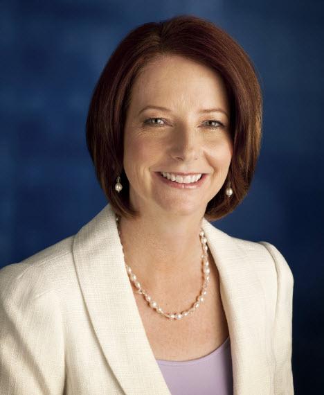 Message from The Honourable Julia Gillard  Prime Minister of Australia