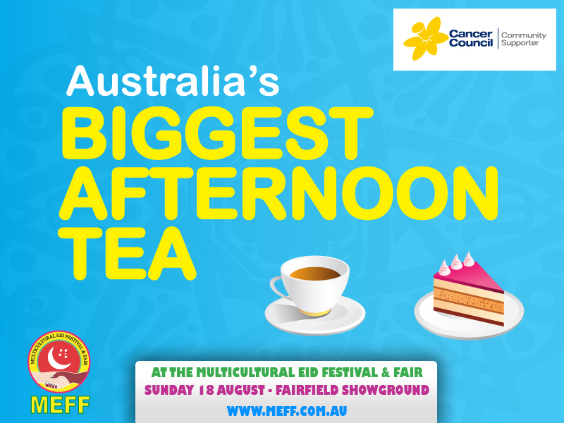 Australia's Biggest Afternoon Tea