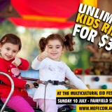 Unlimited Kids Rides for $35