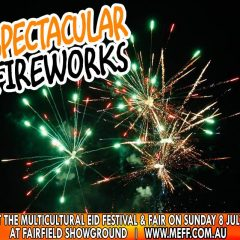 Spectacular Fireworks @7:30pm