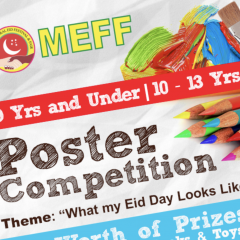 Poster Competition: Eid Day with the family