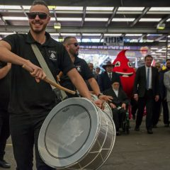 Experience Lebanese Drumming @2pm with C'Darz Entertainment!